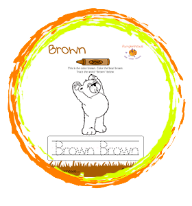 Color The Brown Bear